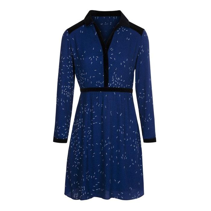 Soi Col Chemise La Paris Magique Bleu Robe Redoute Numéro qBSwXXO