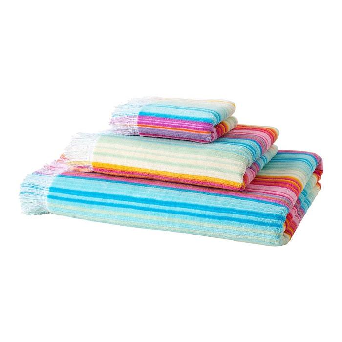 serviette de bain rainbow multicolore el corte ingles la redoute. Black Bedroom Furniture Sets. Home Design Ideas