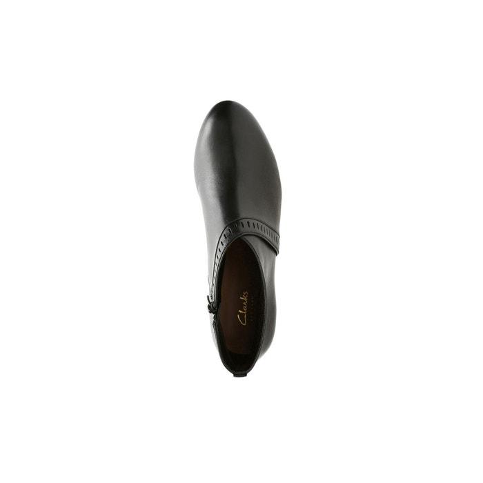 Boots cuir denny frances noir Clarks
