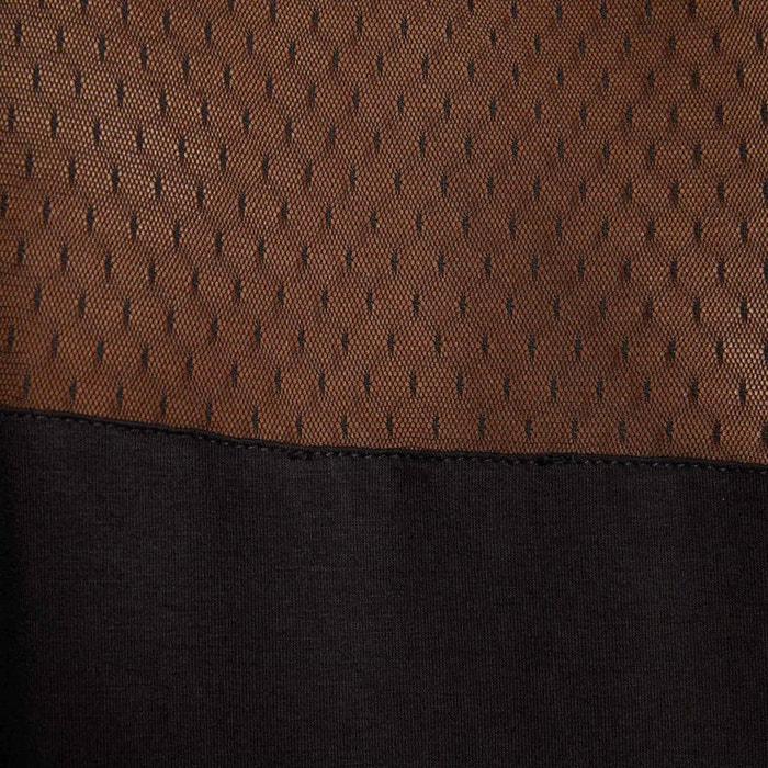 y Blusa escote mangas cremallera sin con MORGAN F7PXxX