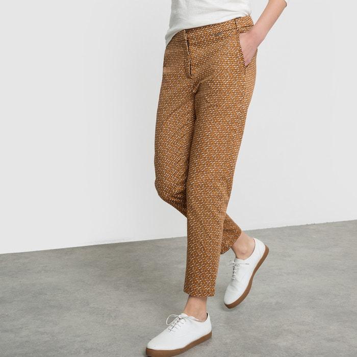 Image Straight Leg Printed Trousers PARAMITA