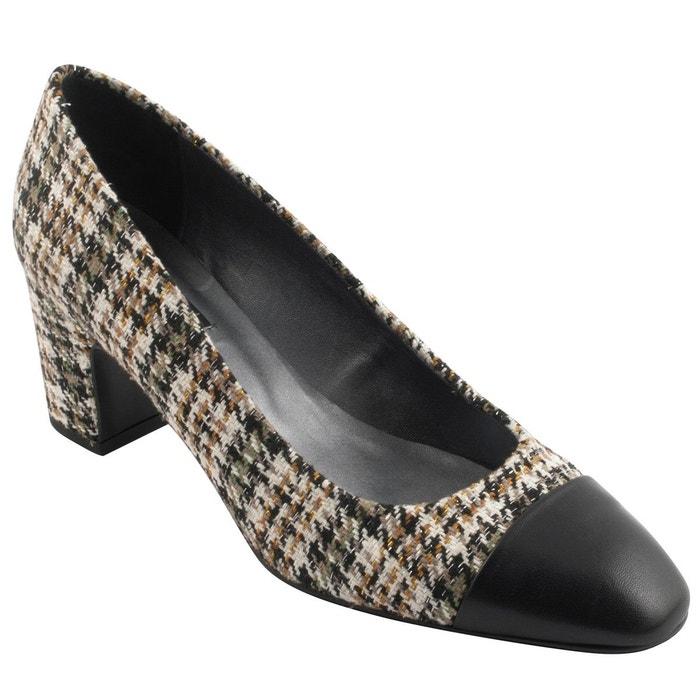 Chaussures à talons dynastie multicolore Exclusif Paris