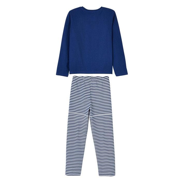 bd4aec5ce5bb2 Lot pyjashort + pyjama garçon combinables Vertbaudet