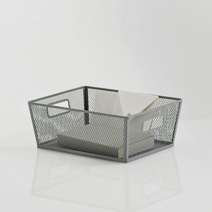 Image LA REDOUTE INTERIEURS Openwork Metal Storage Basket La Redoute Interieurs