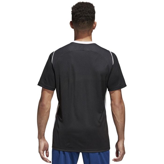 y redondo manga de PERFORMANCE corta ADIDAS delante con cuello Camiseta estampado IA8qZa
