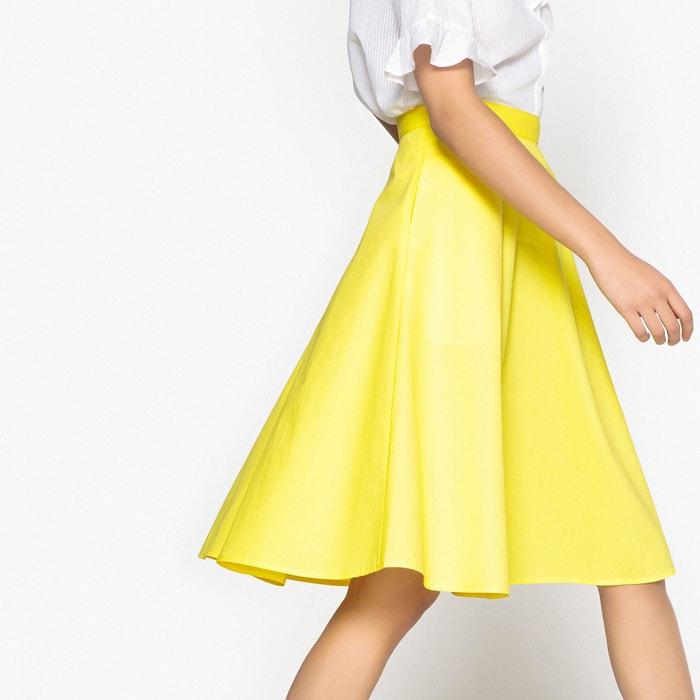 Flared Poplin Cotton Skirt  MADEMOISELLE R image 0