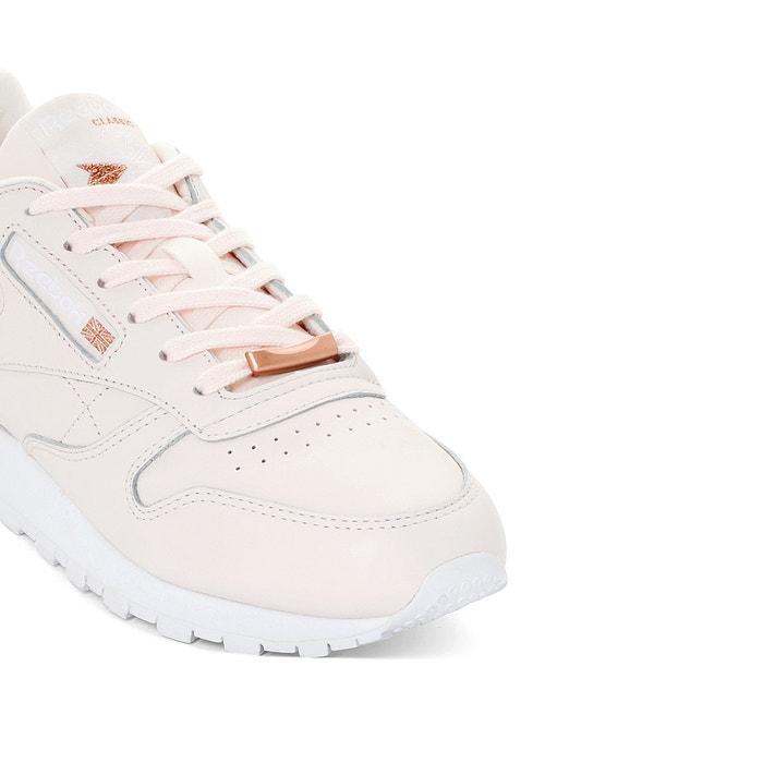 3dd069106a3 Sneakers classic leather hw lichtroze Reebok | La Redoute