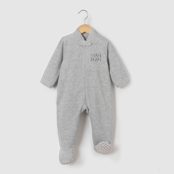 Fleece Sleepsuit, Birth - 3 Years  La Redoute Collections image 0
