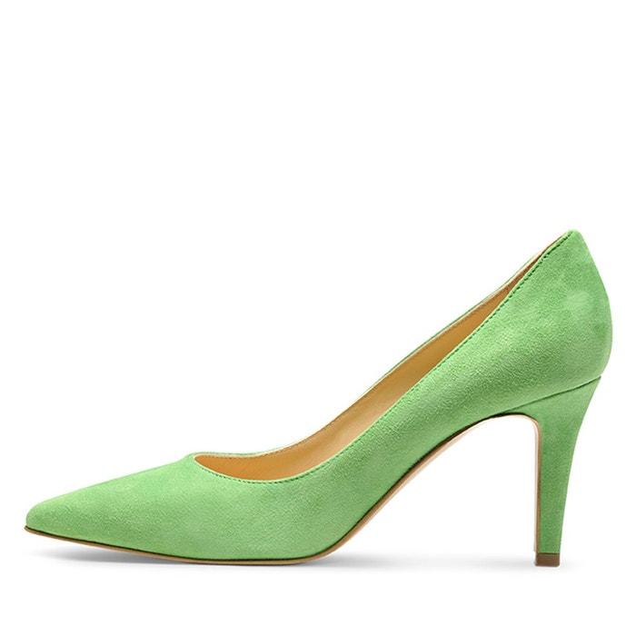 Escarpins femme vert clair Evita