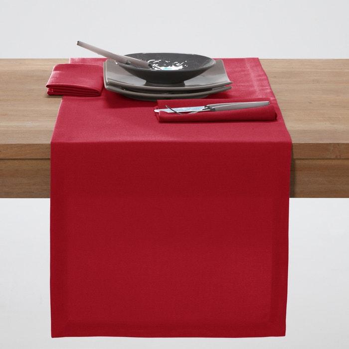 Image Chemin de table uni polyester SCENARIO