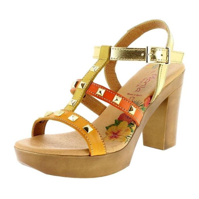 nu MARILA sandales sandales cuir nu MARILA pieds pieds XA5qp