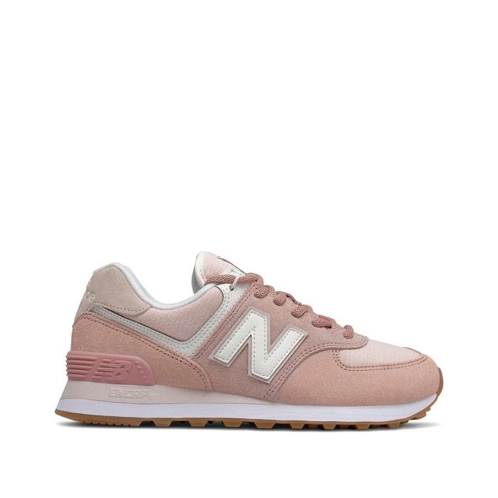 álbum de recortes Mm voluntario  574 suede trainers , pink, New Balance | La Redoute
