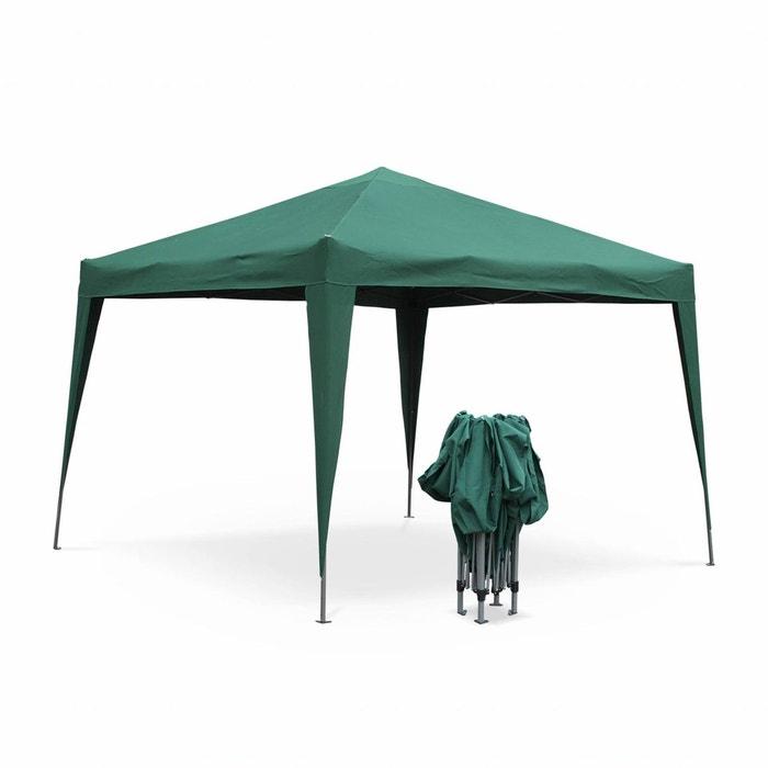 Tonnelle pliante 3 x 3 m - tecto vert - tente de jardin pop up ...
