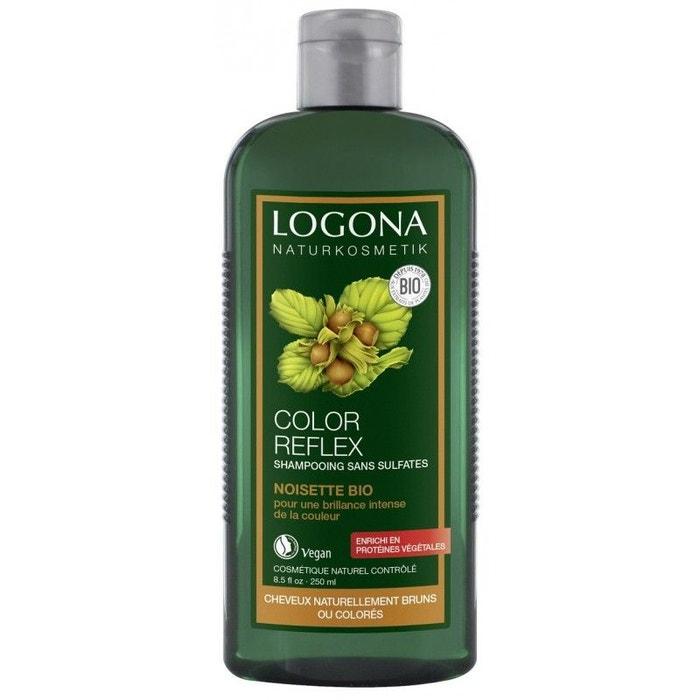 shampoing reflets noisette cheveux bruns couleur unique logona la redoute. Black Bedroom Furniture Sets. Home Design Ideas