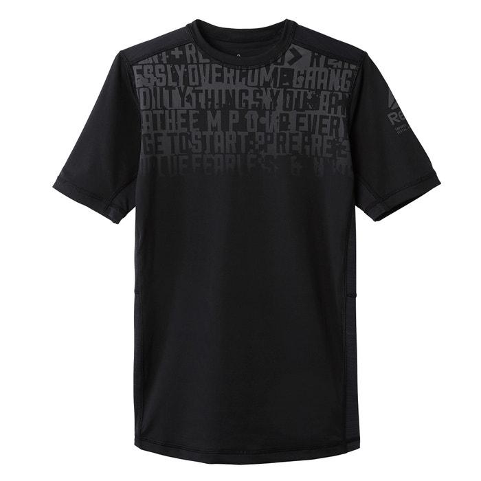 de con redondo manga Camiseta REEBOK corta cuello I1FUU0