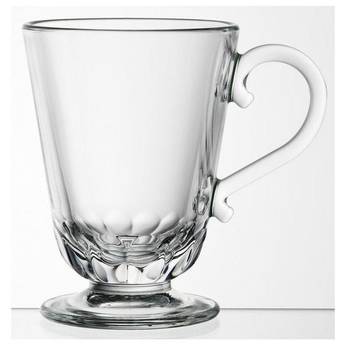 6 Tasse Par 25 Mug Cl La Verre Louison 623701 Rochère Pressé f76ygYbv