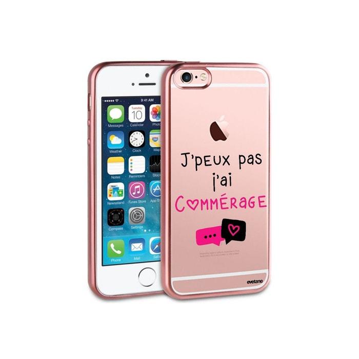 coque iphone 6 silicone rose gold