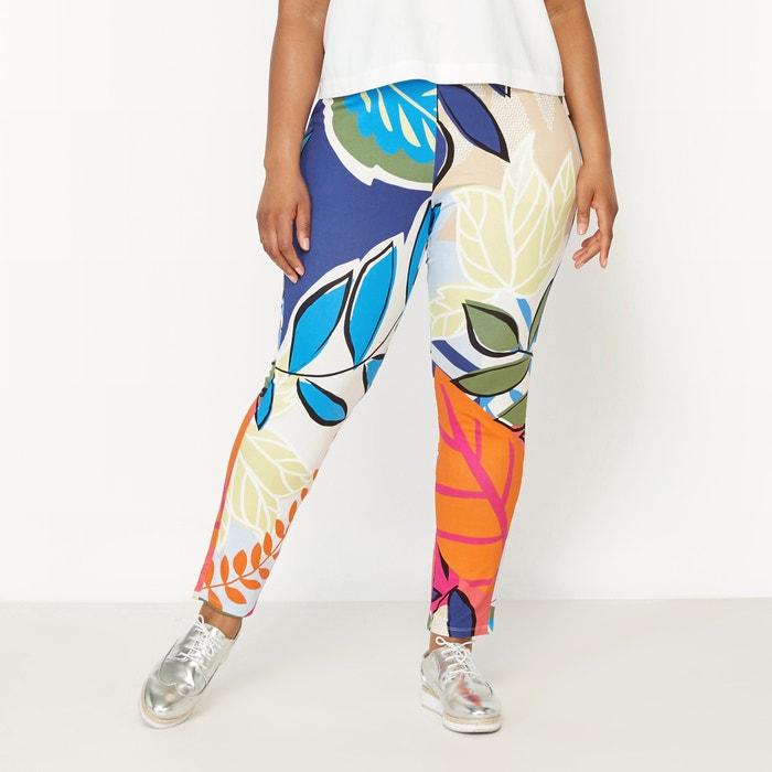 Image Pantalon en maille imprimée CASTALUNA