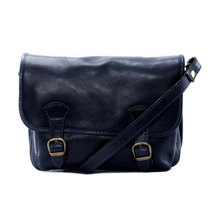 98074f056f Sac à main cartable en cuir lisse nagaï Oh My Bag | La Redoute