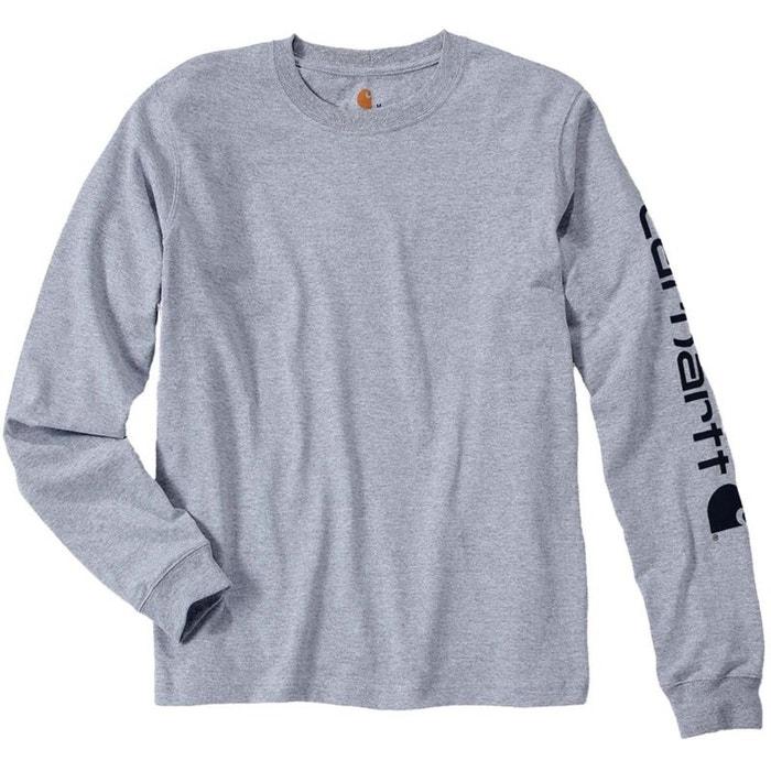 Camiseta manga de larga de algodón FKlc3T1J