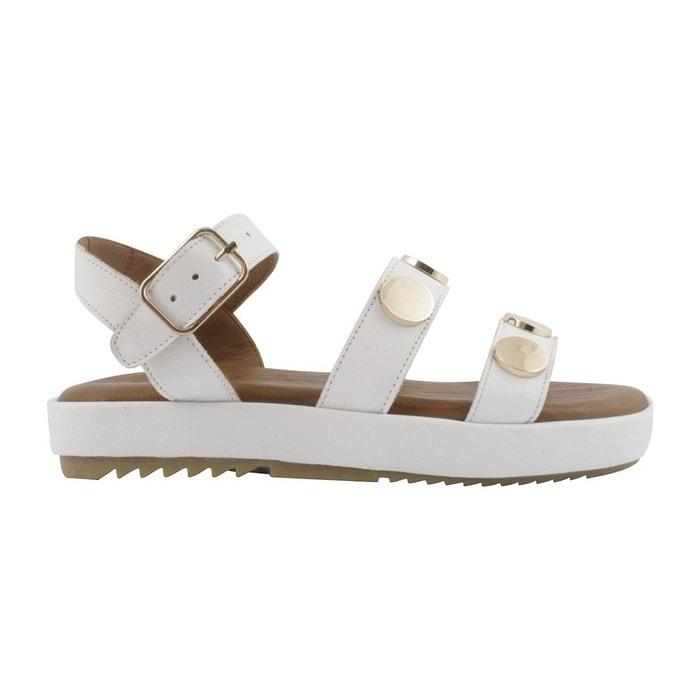 Exclusif Paris Sandales Nikita Blanc - Chaussures Sandale Femme