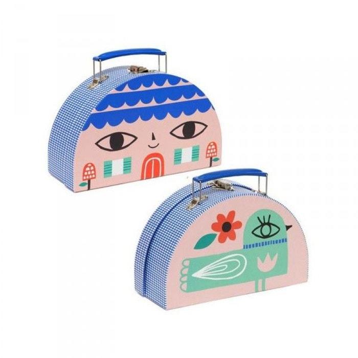 Petite valise maison oiseau couleur unique decoloopio for Oiseau par la couleur