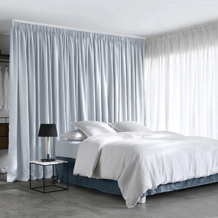 otra imagen de cortina lino con pliegues tulipn colin ampm