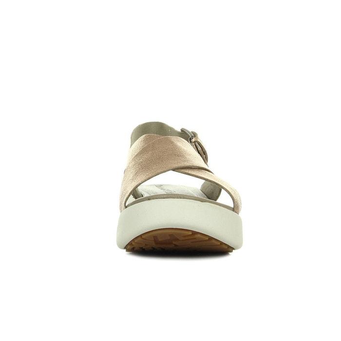 Sandales femme los angeles wind doré Timberland