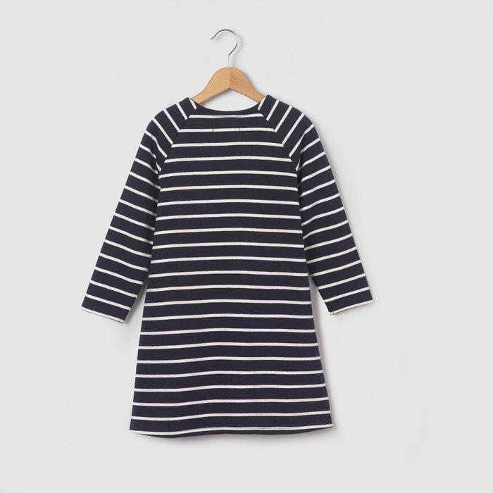 afbeelding Bedrukte jurk met lange mouwen La Redoute Collections