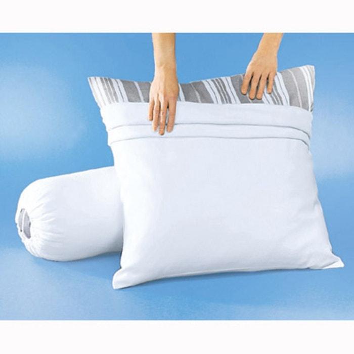 Image Sous-taie oreiller en molleton traitée teflon anti-taches La Redoute Interieurs