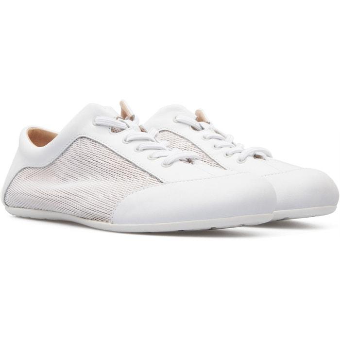 Baskets femme blanc Camper