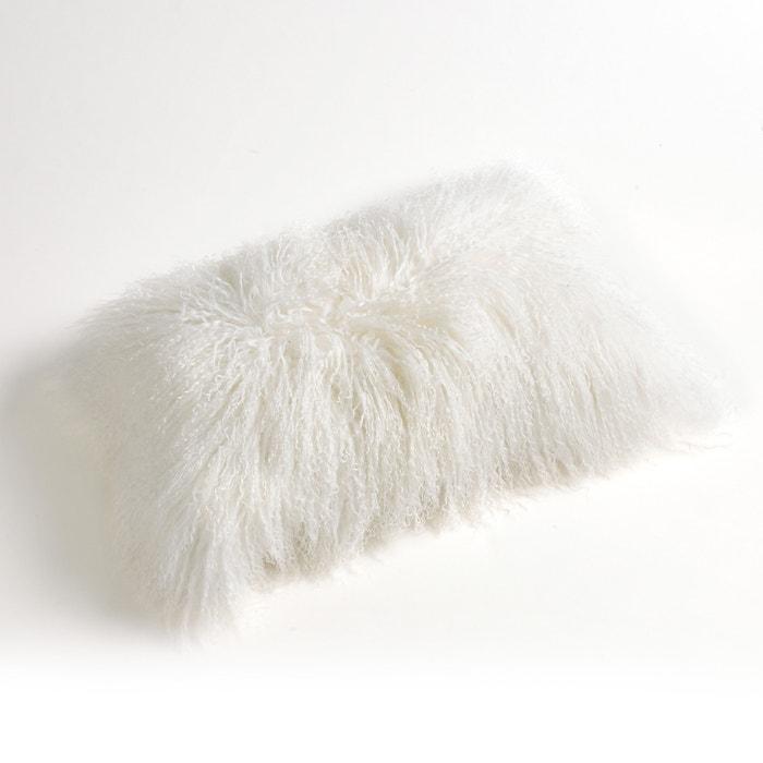 Osia Mongolian Wool Cushion Cover  La Redoute Interieurs image 0