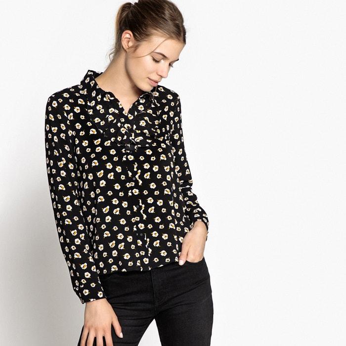 afbeelding Bedrukte blouse met lange mouwen SUNCOO
