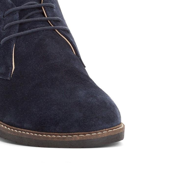 Boots cuir matar marine Kickers