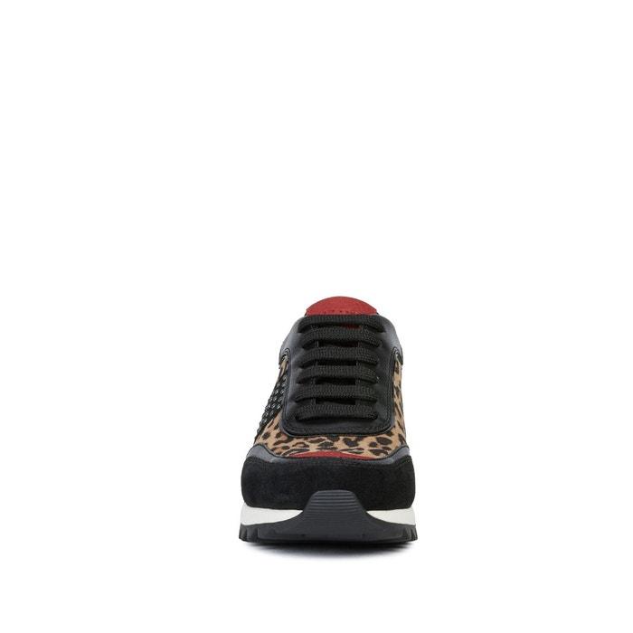 Baskets respirantes tabelya marron noir Geox | La Redoute