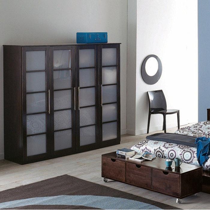 fabulous la redoute interieurs armoire portes dressing pin. Black Bedroom Furniture Sets. Home Design Ideas