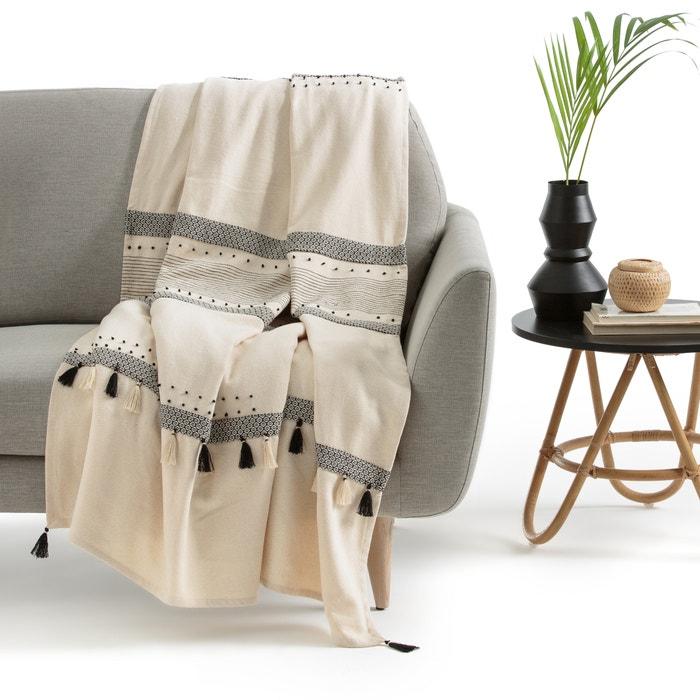 plaid crudo parfeto crudo la redoute interieurs la redoute. Black Bedroom Furniture Sets. Home Design Ideas