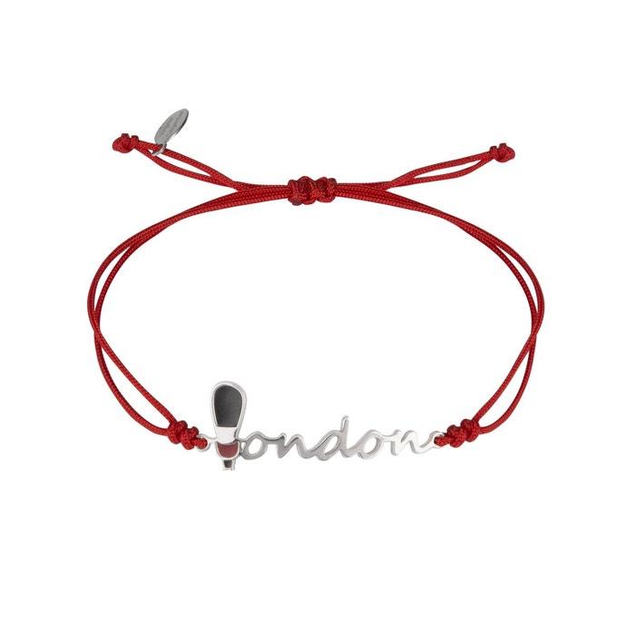 Bracelet cordon argent 'london' Virginie Carpentier | La Redoute Jeu Abordable OrdMw