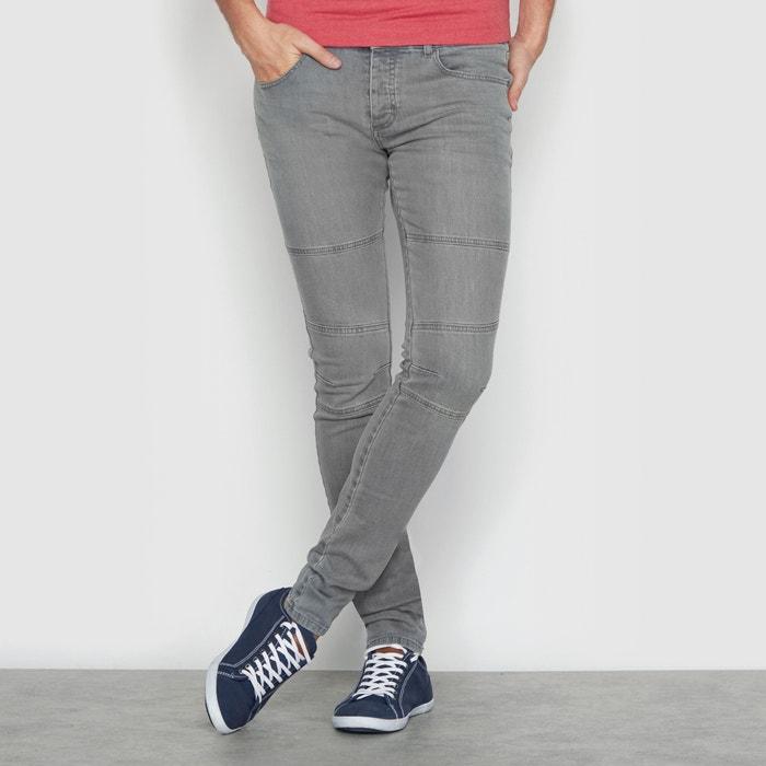 afbeelding Jeans in bikerstijl La Redoute Collections