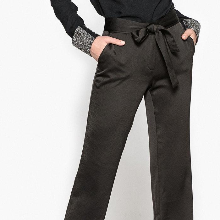 Pantalon bootcut satin La Redoute Collections
