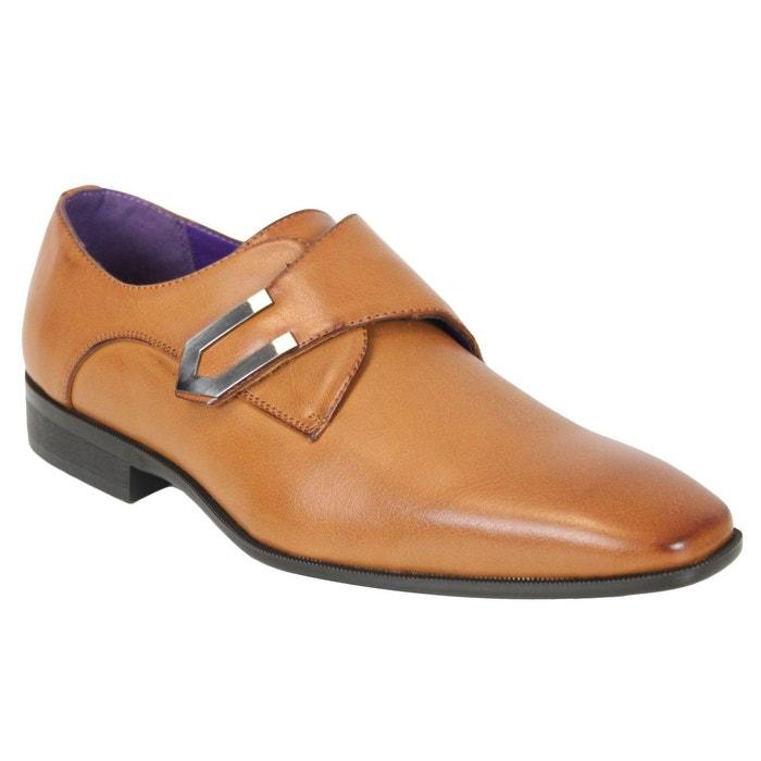 Chaussures elo080 marron Kebello