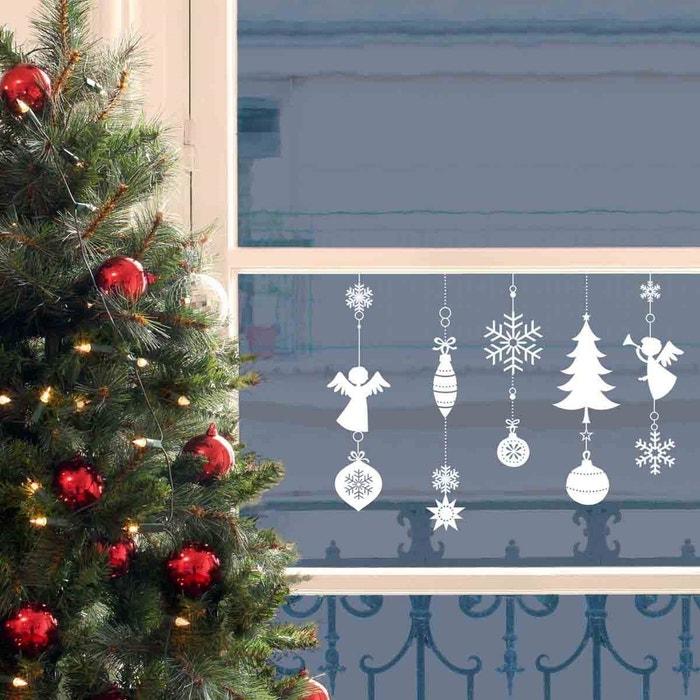 Homesticker Noël Deco De Noel Pour Fenetre Multicolore Draeger La