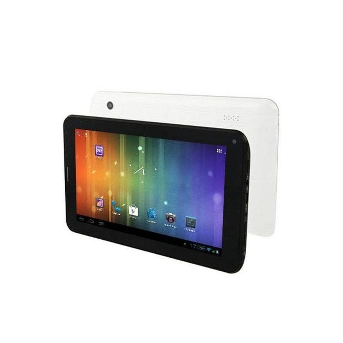 tablette tactile 3g android 4 0 7 pouces gsm wifi 3d hd 36. Black Bedroom Furniture Sets. Home Design Ideas