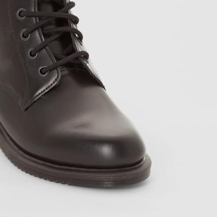 167e49e76b22f Bottines cuir à lacets emmeline Dr Martens noir   La Redoute
