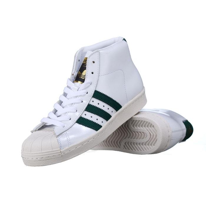 Basket Adidas Pro Model 80s Bb2248 Blanc-Vert 13Mlf