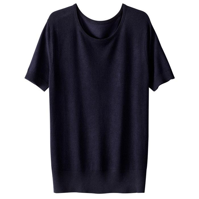 La Jersey Redoute cuello corta Collections de redondo con manga qrr6EF