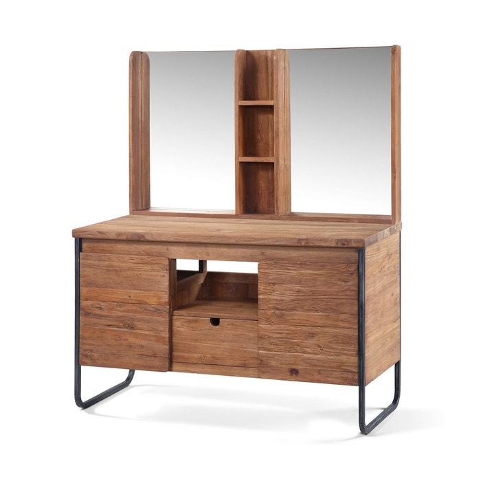 meuble de salle de bains jimbaran miroir vasque kha home design la redoute