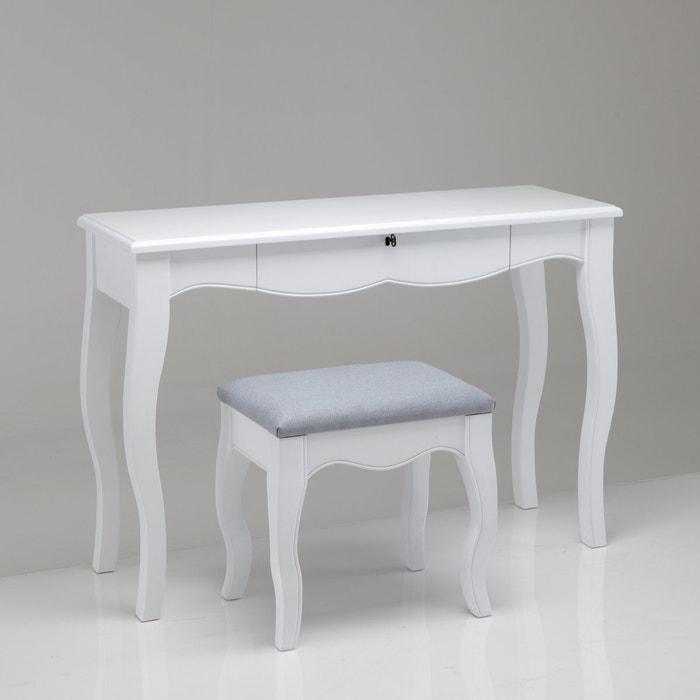 Image Bureau coiffeuse + tabouret Lison La Redoute Interieurs