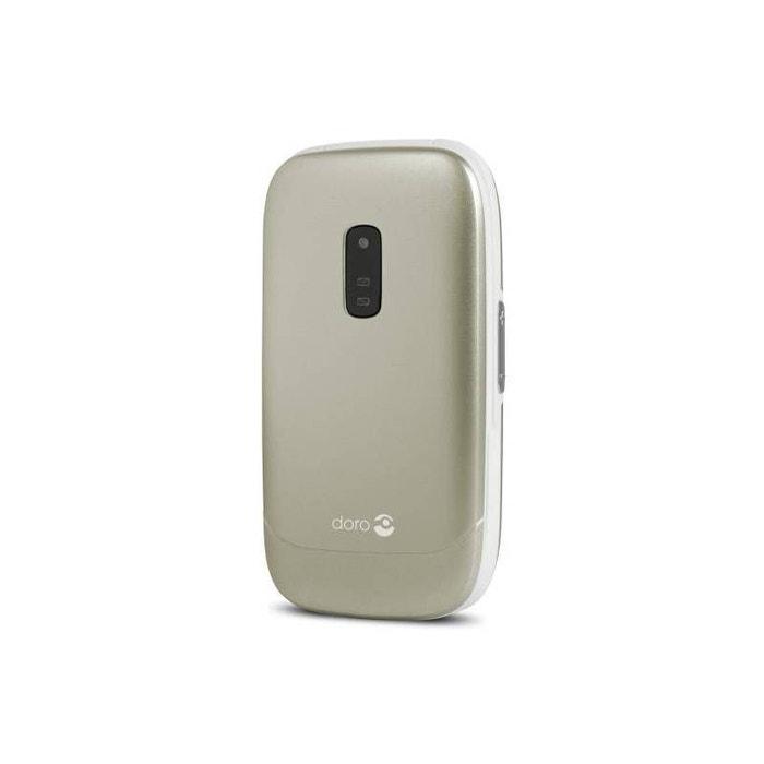 T l phone portable doro 6030 champagne marron doro la redoute - La redoute telephone gratuit ...