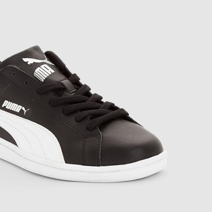 Baskets smash l noir/blanc Puma
